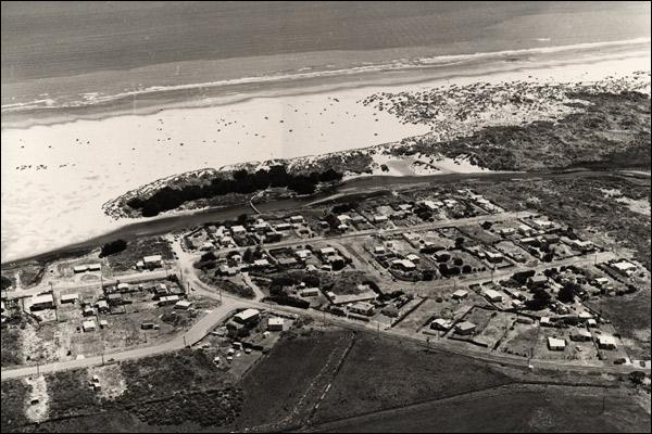 Waikawa Beach in 1972.